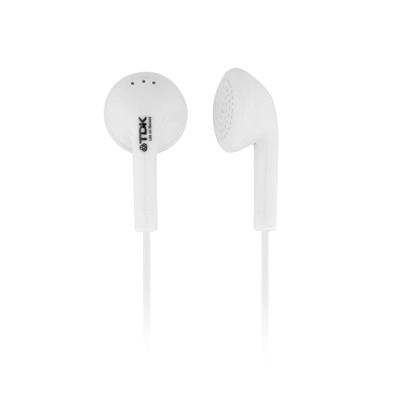 TDK EB5 WHITE In_ear Headphones EB5W by TDK
