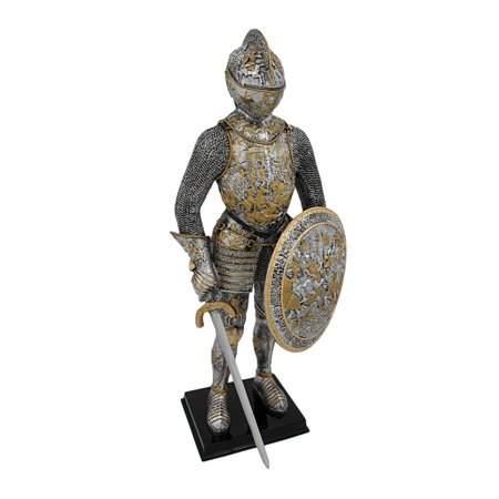 Medieval French Knight In Armor Statue Figure Armour - image 5 de 5