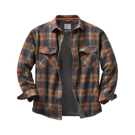 (Legendary Whitetails Men's Archer Thermal Lined Shirt Jacket)