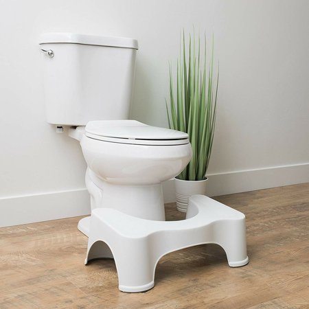 Home Toilet Stool Thick Squatty Potty Non-Slip Bathroom Toilet Footstool - image 1 of 7