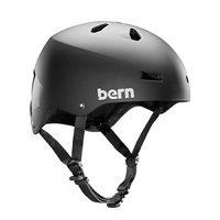 Bern Mens Macon EPS, Matte Black, L