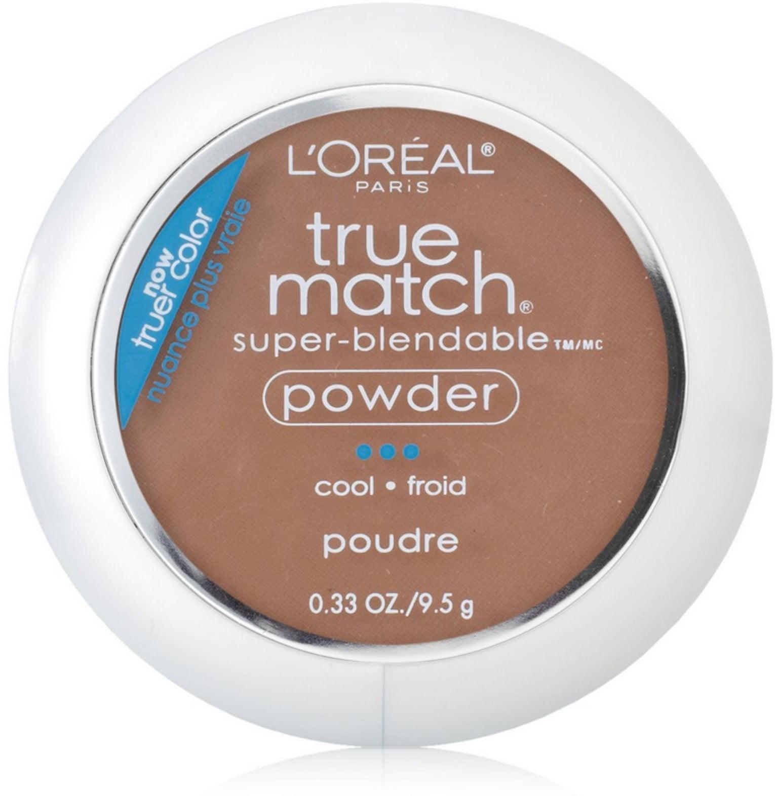 L'Oreal True Match Powder, Cocoa [C8], 0.33 oz (Pack of 2)