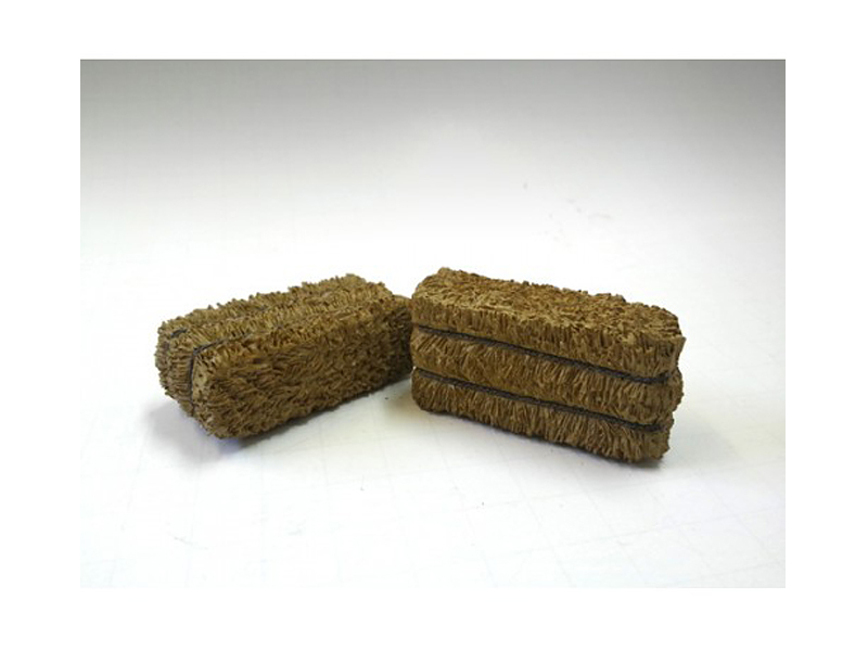 Hay Bale Accessory 2 Pieces Set for 1:18 Scale Models by American Diorama by American Diorama