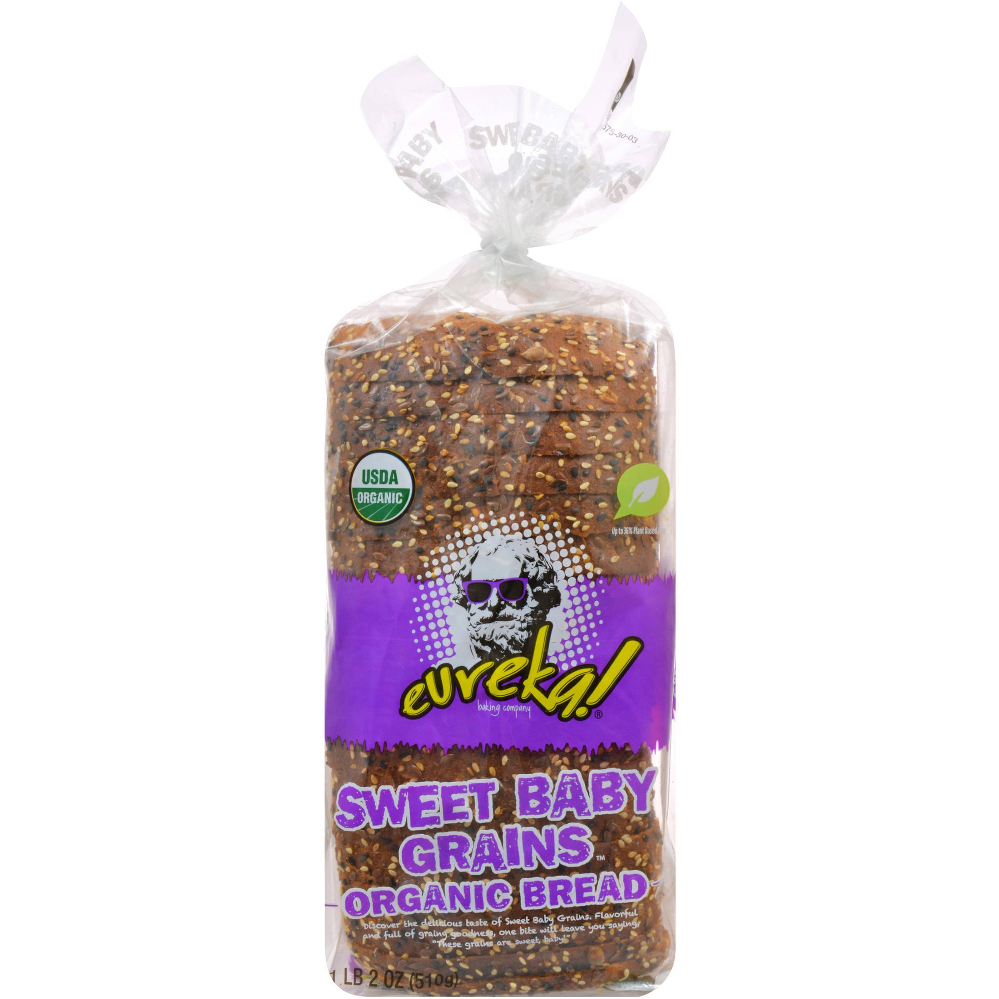 eureka! Sweet Baby Grain Bread, 18 oz