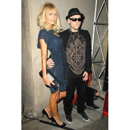 Paris Hilton Benji Madden At Arrivals For Night At The Movies With Paris Hilton Celebrating The Launch Of Mtv Series Paris HiltonS My New Bff Club Lax Los Angeles Ca September 30 2008 Photo By Dee Cer