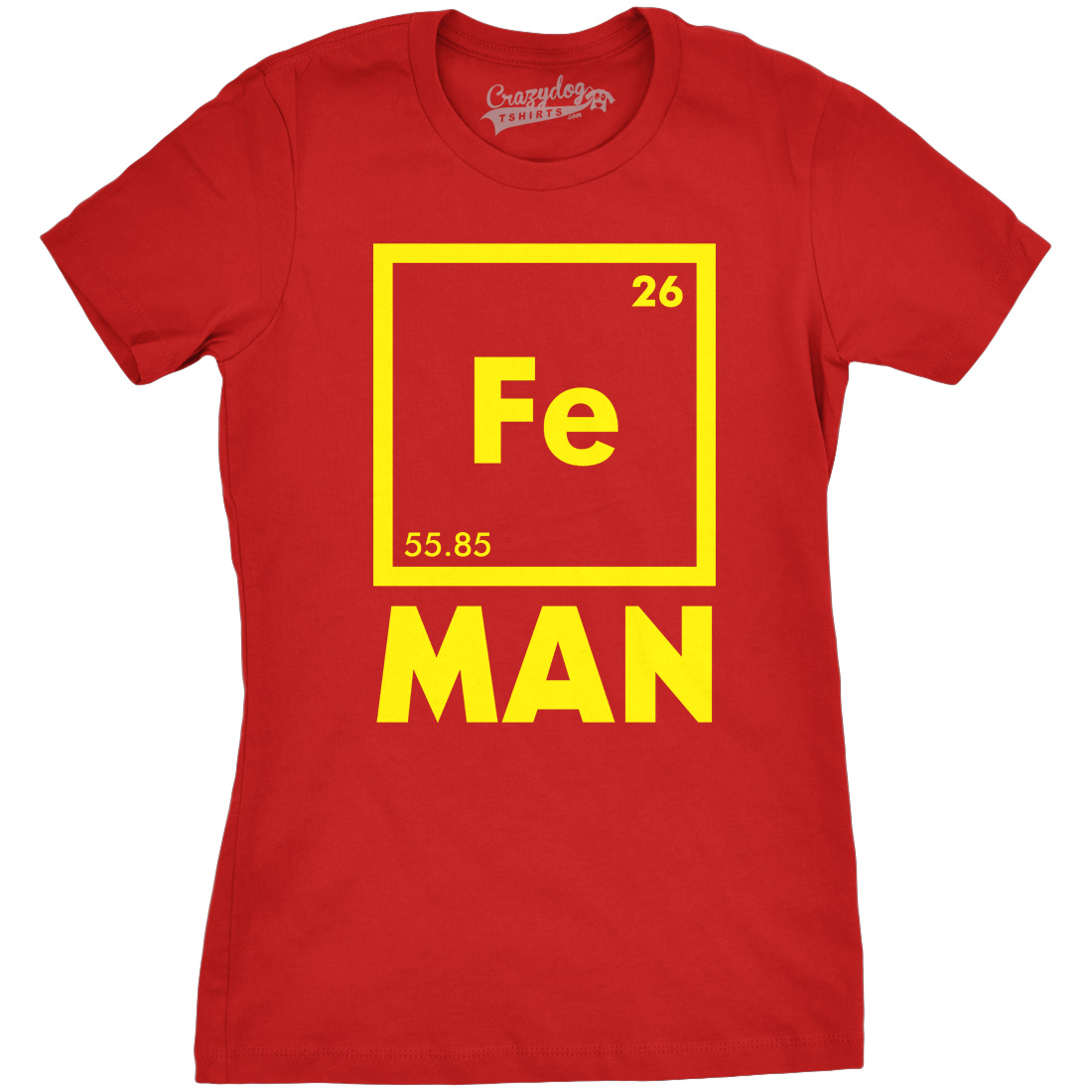 Womens Iron Man Science T shirt Cool Shirts Novelty Ladies Funny T shirt Graphic Design