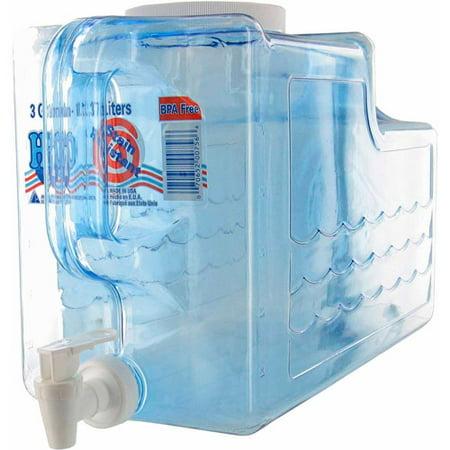 Arrow Plastic 3 gal Beverage Dispenser - Plastic Beverage Dispenser