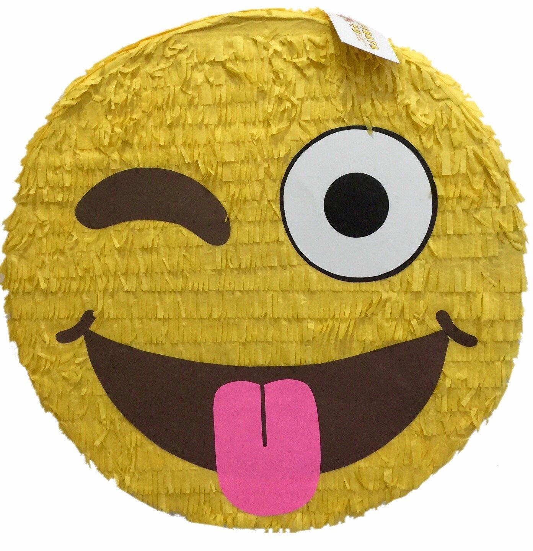 "Winking Emoticon Pinata 16"""