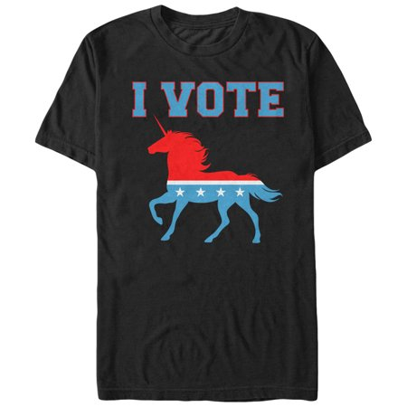 Men's I Vote Unicorn T-Shirt (Shop Vogue)