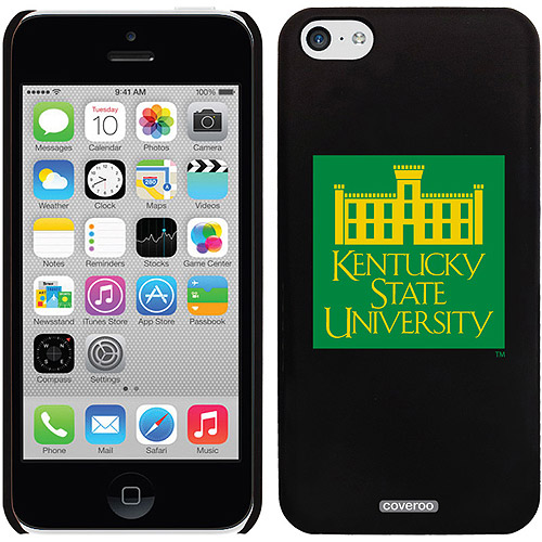 Kentucky State KSU Emblem Design on Apple iPhone 5c Thinshield Snap-On Case by Coveroo