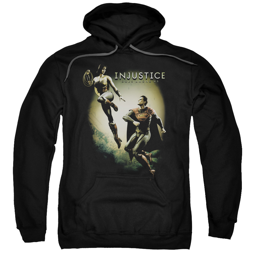 Injustice Gods Among Us Battle Of The Gods Mens Pullover Hoodie