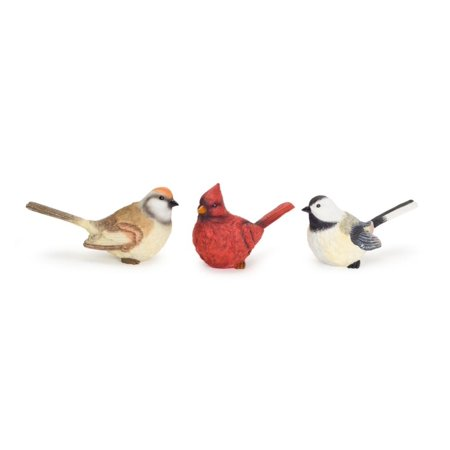 """Pack of 6 Vibrantly Colored Party Decorative Bird Centerpieces 4.5"""" (Neon Colored Centerpieces)"""