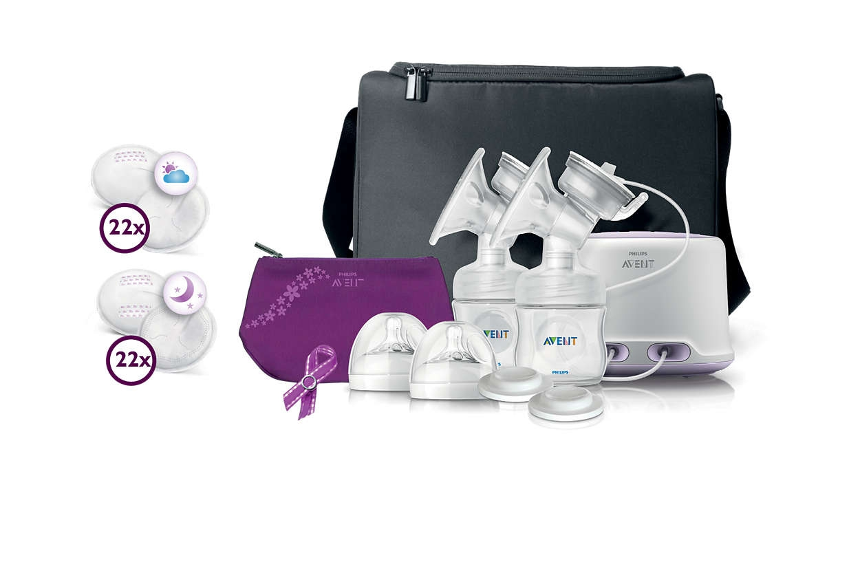 Philips Avent Double Electric Breast Pump  Walmart Canada-9496