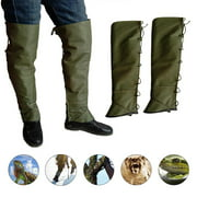 Leg Gaiters Leggings Pants Anti-snake Waterproof Sports Leg Cover Double Protection for Outdoor Hiking Hunting Ski Mountain
