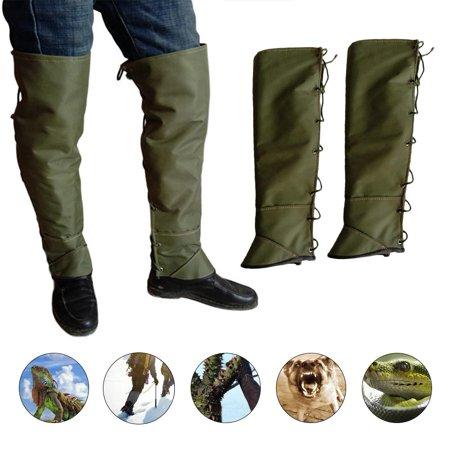 ankishi Leg Gaiters Leggings Pants Anti-snake Waterproof Sports Leg Cover Double Protection for Outdoor Hiking Hunting Ski Mountain thumbnail