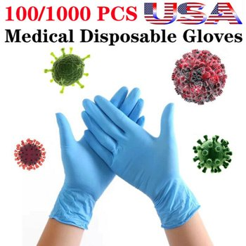 Cvlife Nitrile PVC Medical Disposable Gloves