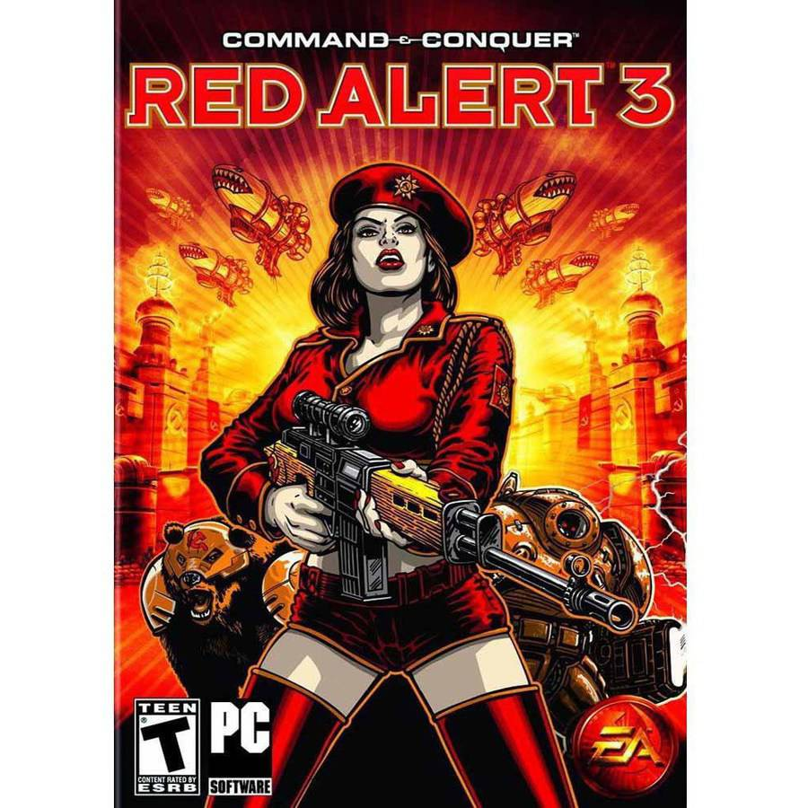 Electronic Arts Command & Conquer Red Alert 3 (Digital Code)