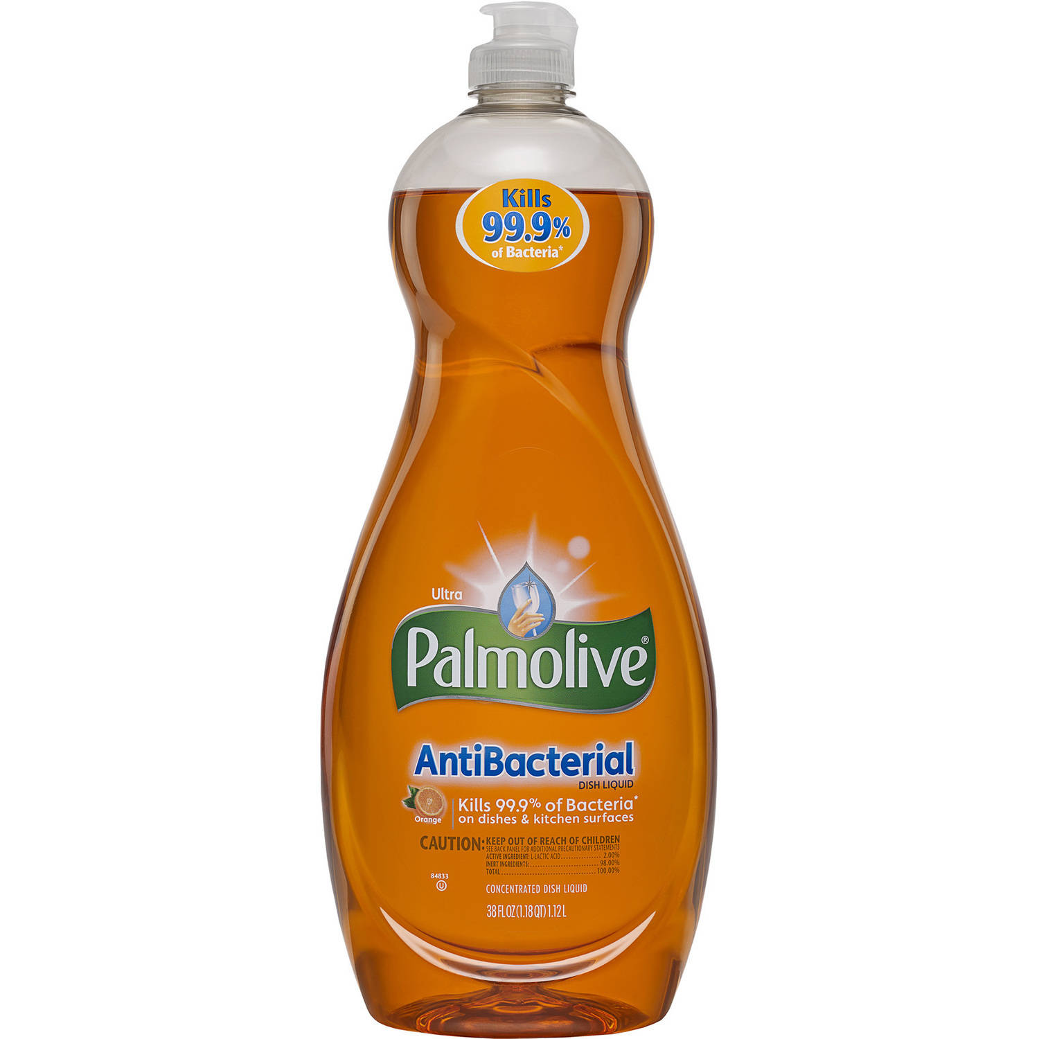 Palmolive Ultra Dish Liquid, Antibacterial, 38 Fluid Ounce