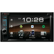 "Kenwood DDX375BT 6.2"" Double-Din In-Dash DVD Receiver With Bluetooth & SiriusXM Ready"