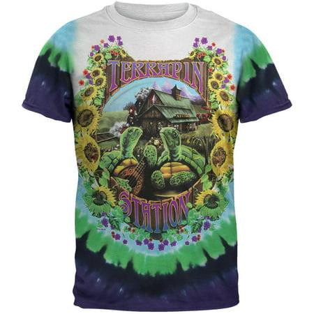 Grateful Dead Halloween Shirt (Grateful Dead - Terrapin Station Tie Dye)