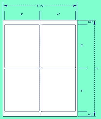 4 per page labels