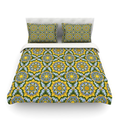 East Urban Home Sunflowe by Allison Soupcoff Featherweight Duvet Cover