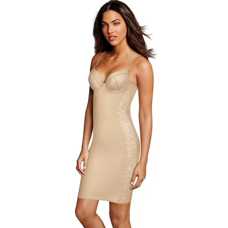 10743e794fd Maidenform - Maidenform Firm Foundations Lift Cup Slip DM1032 - Walmart.com