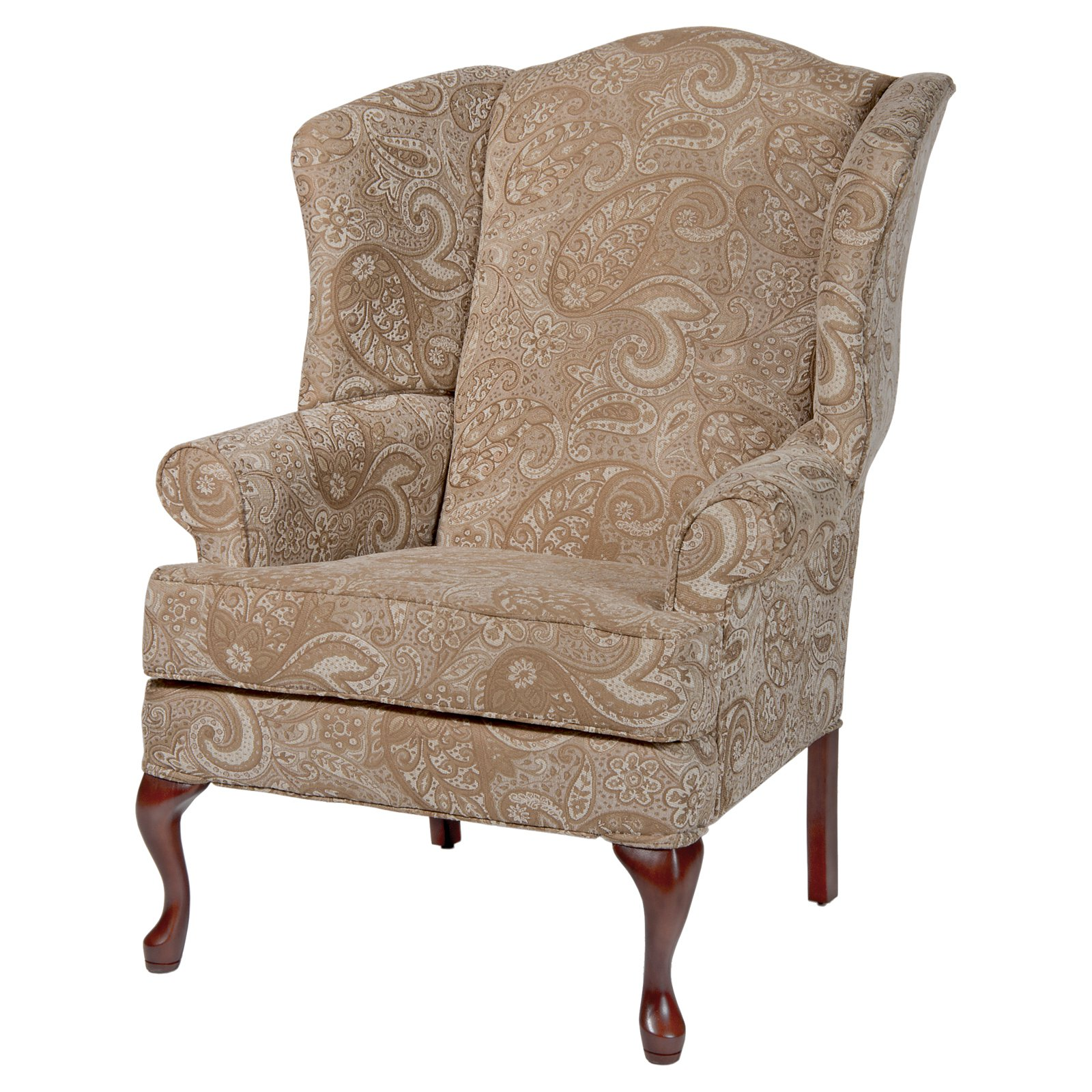 Comfort Pointe Paisley Wingback Chair