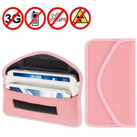 AMZER Anti-radiation, Anti-tracking Pouch EMF Protection Anti-spying GPS RFID Signal Blocker upto 6.3 inches for HTC One