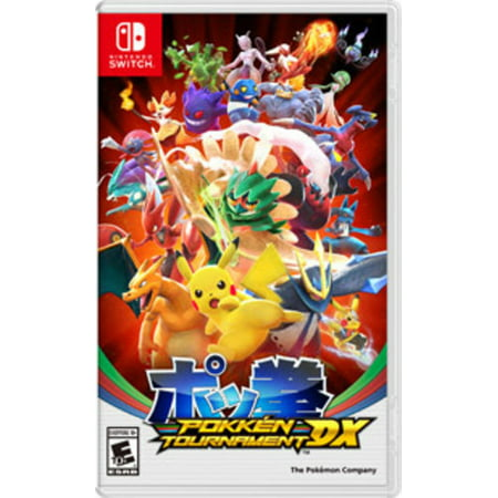Pokken Tournament DX, Nintendo, Nintendo Switch, 045496591137