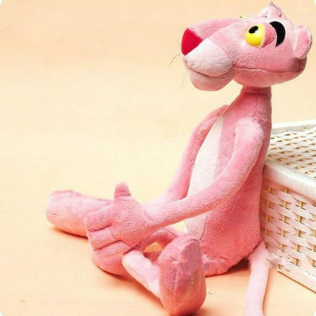 Studded Panther (16Cute Plush Doll Toy Stuffed Animal Naughty Pink Panther Kids Plaything Gift)