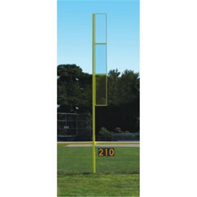 JAYPRO Bbcfp-20 Foul Poles - Collegiate 20 Foot Foul Pole