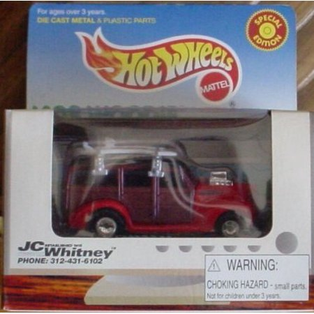 Hot Wheels '40s Woodie JC Whitney Limited Edition 1:64 Scale Collectible Die Cast Car