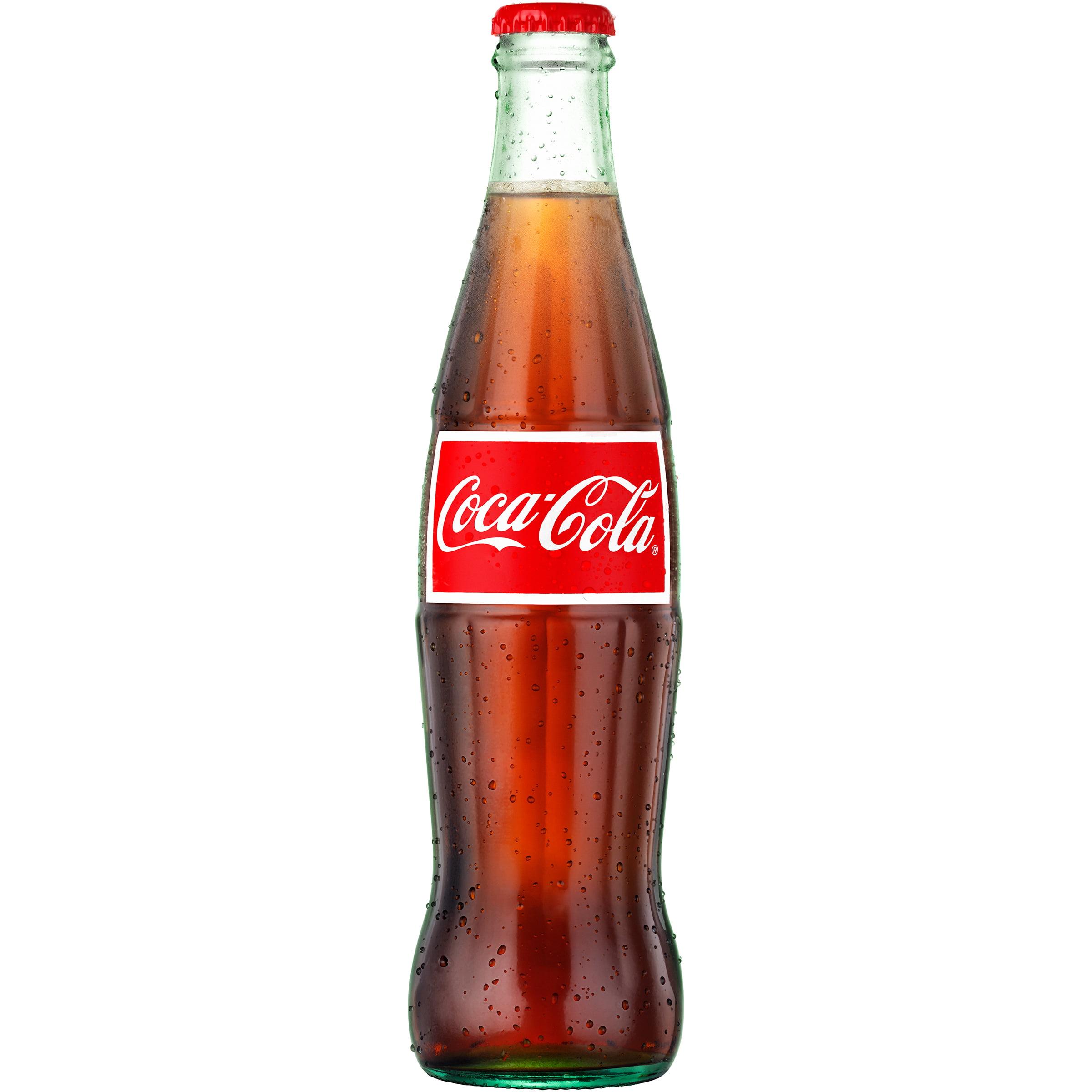 Coca-Cola Glass Bottle Soda, 12 Fl Oz, 1 Count - Walmart.com