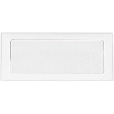 #10 Full Face Window Envelopes (4 1/8 x 9 1/2) - 28lb. Bright White (50 Qty.)