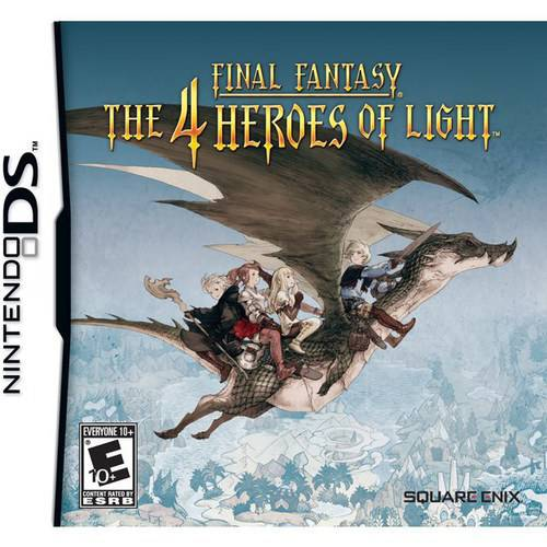 Square Enix FINAL FANTASY: THE 4 HEROES OF LIGHT NDS