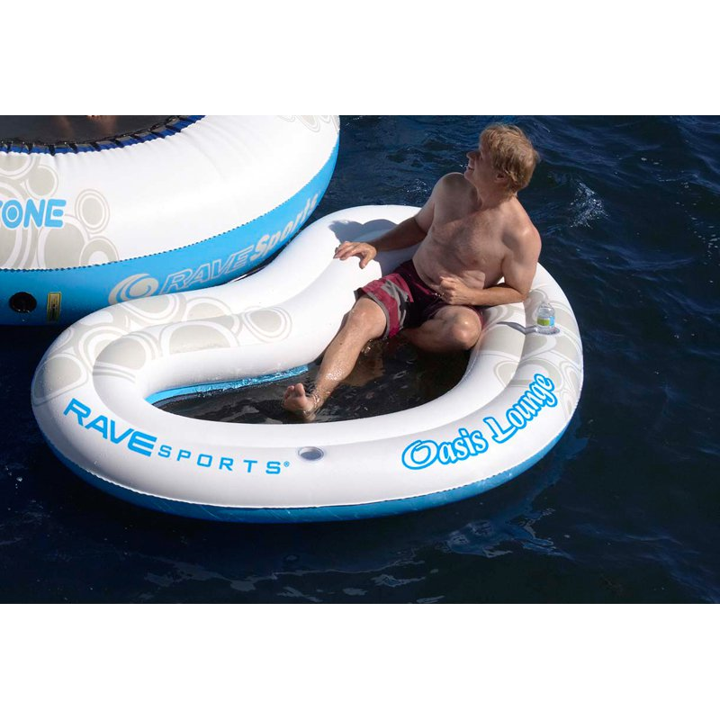 RAVE Sports O-Zone Oasis Lounge Water Bouncer Attachment