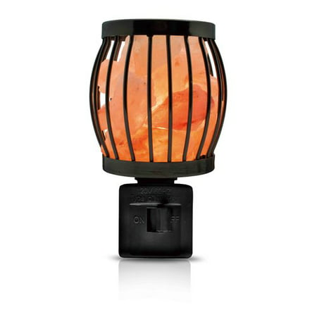 Himalayan Glow Salt Lamp Wall Plug-in, 360 Rotatable Framed Night Light