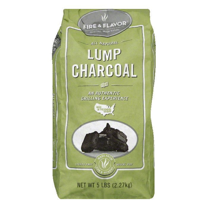 Fire & Flavor Lump Charcoal, 5 LB (Pack of 4)