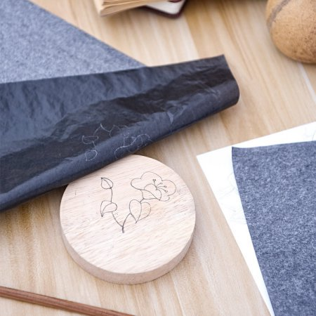 how to use carbon paper