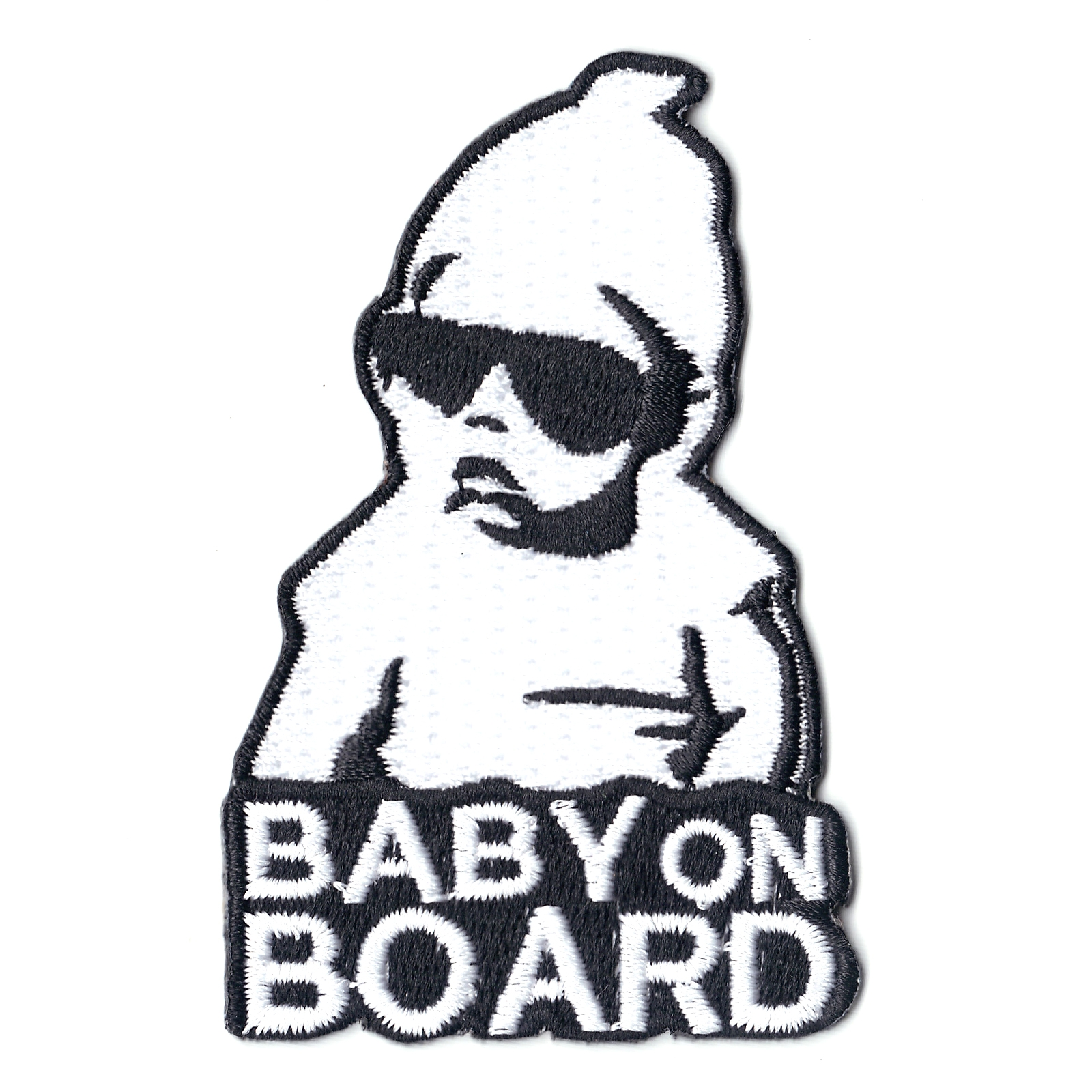 Baby On Board Iron On Patch
