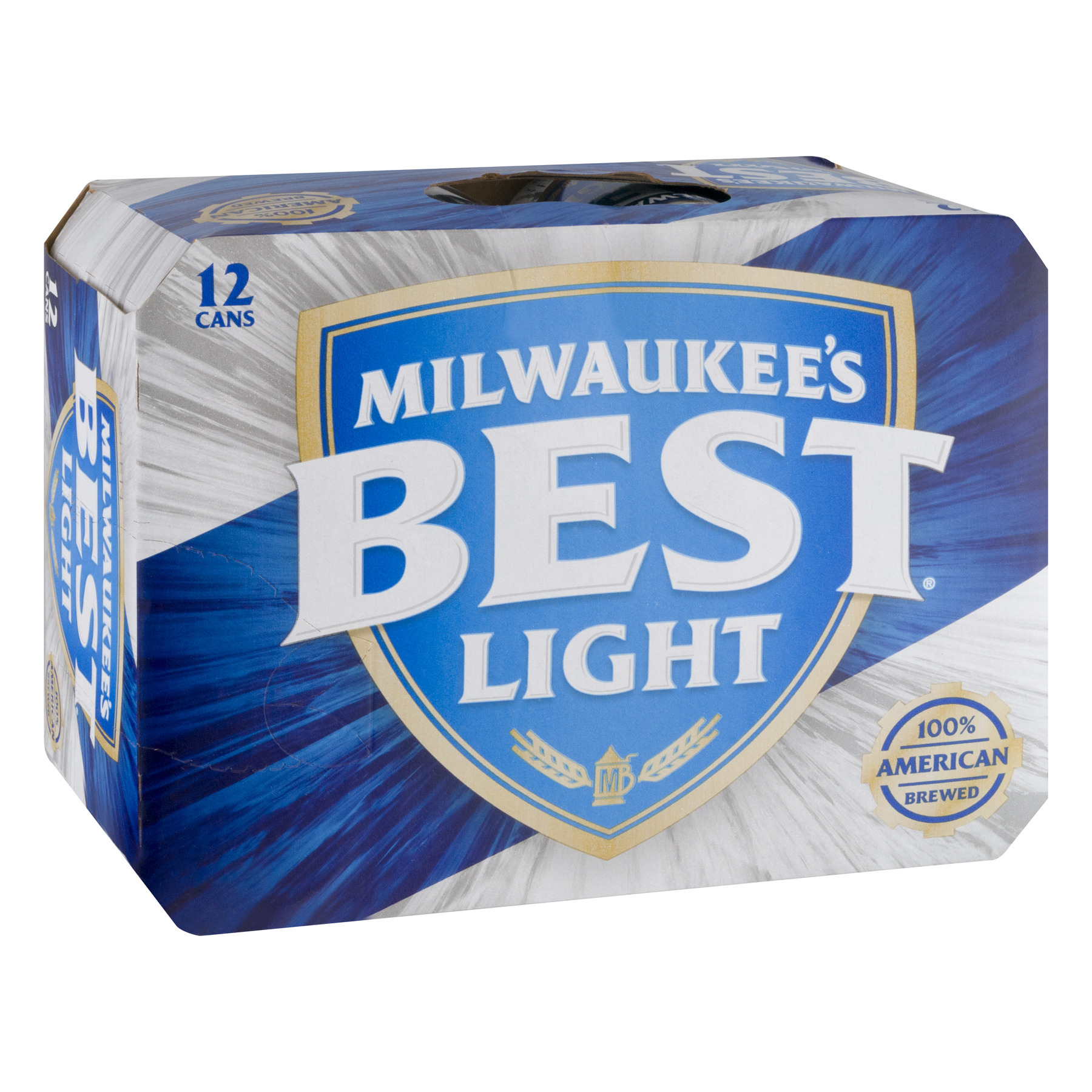 Milwaukee\'s Best Light Lager Beer, 12 Pack, 12 fl. oz. Cans, 4.1 ...