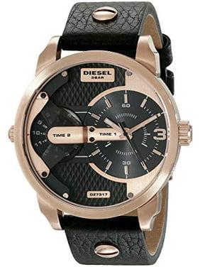 Diesel Men's DZ7317 Mini Daddy Analog Display Analog Quartz Black Watch