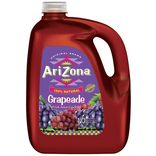 AriZona Grapeade Fruit Juice Cocktail, 1 gal