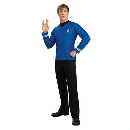 Star Trek Mens Deluxe Spock Halloween Costume - Star Trek Costumes For Men