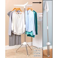 Hang and Dry Rack - Folding Portable Drying Stand for Shirts, Dresses, Suits