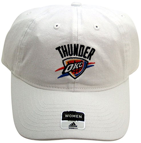 NBA Oklahoma City Thunder Women's Cap Strap Back White