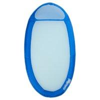 SwimWays Original Spring Float - Floating Swim Hammock for Pool or Lake - Cobalt Blue/Purest Blue