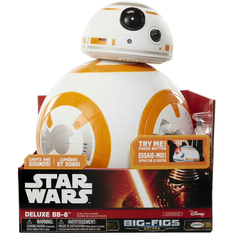 Big Figs Star Wars Deluxe BB 8 Walmart