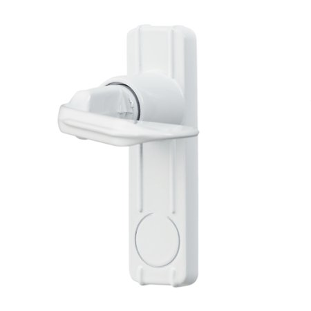 Handle Set For In-Swing Storm and Screen Doors, White (Swing Door Handle)